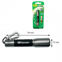 Lampe torche compact Led Cree Silver
