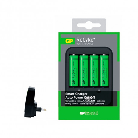Chargeur 8H GP+4 Accus AA