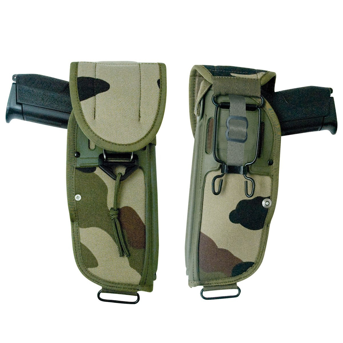 HOLSTER AMBIDEXTRE DOUBLE SECURITE CORDURA
