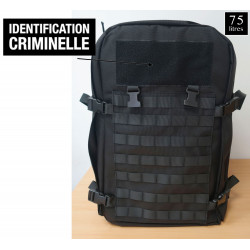 SAC A DOS IDENTIFICATION CRIMINELLE