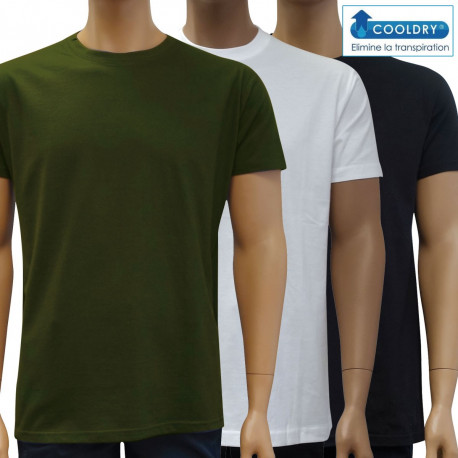 TSHIRT Manches courtes COOLDRY
