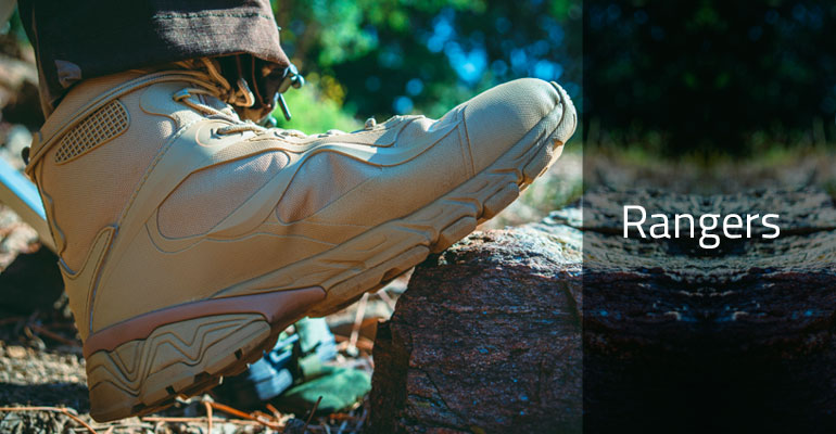 Chaussures Rangers militaire gendarmerie police